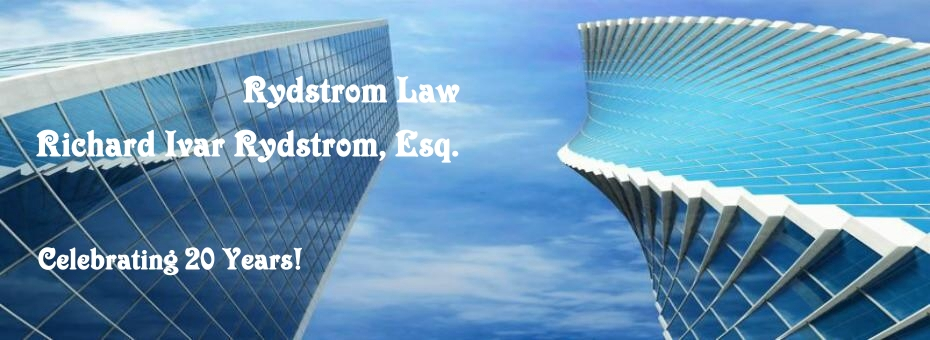 RydstromLaw Civil Business Real Estate Foreclosure Bank Litigation Serious Personal Injury Homeowner Foreclosure Defense Litigation